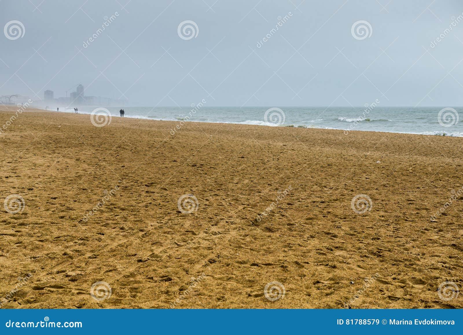 Strand in Oostende, België