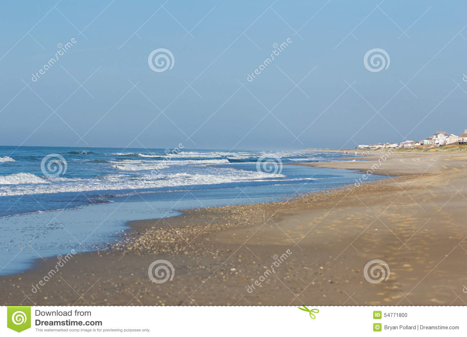 Strand på Emerald Isle
