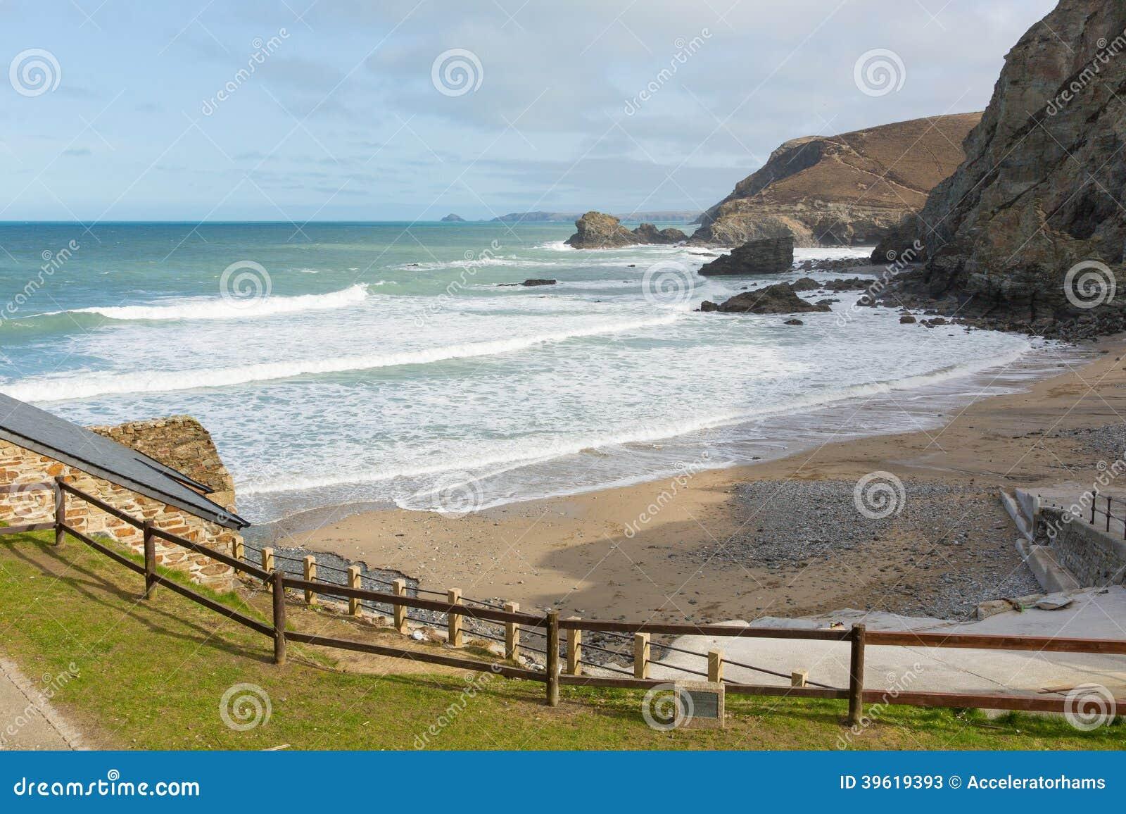 Strand på St Agnes North Cornwall England UK