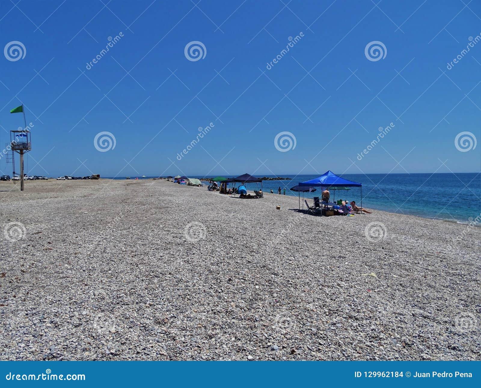 Strand Pena Del Moro von EL Ejido Almeria Andalusia Spain