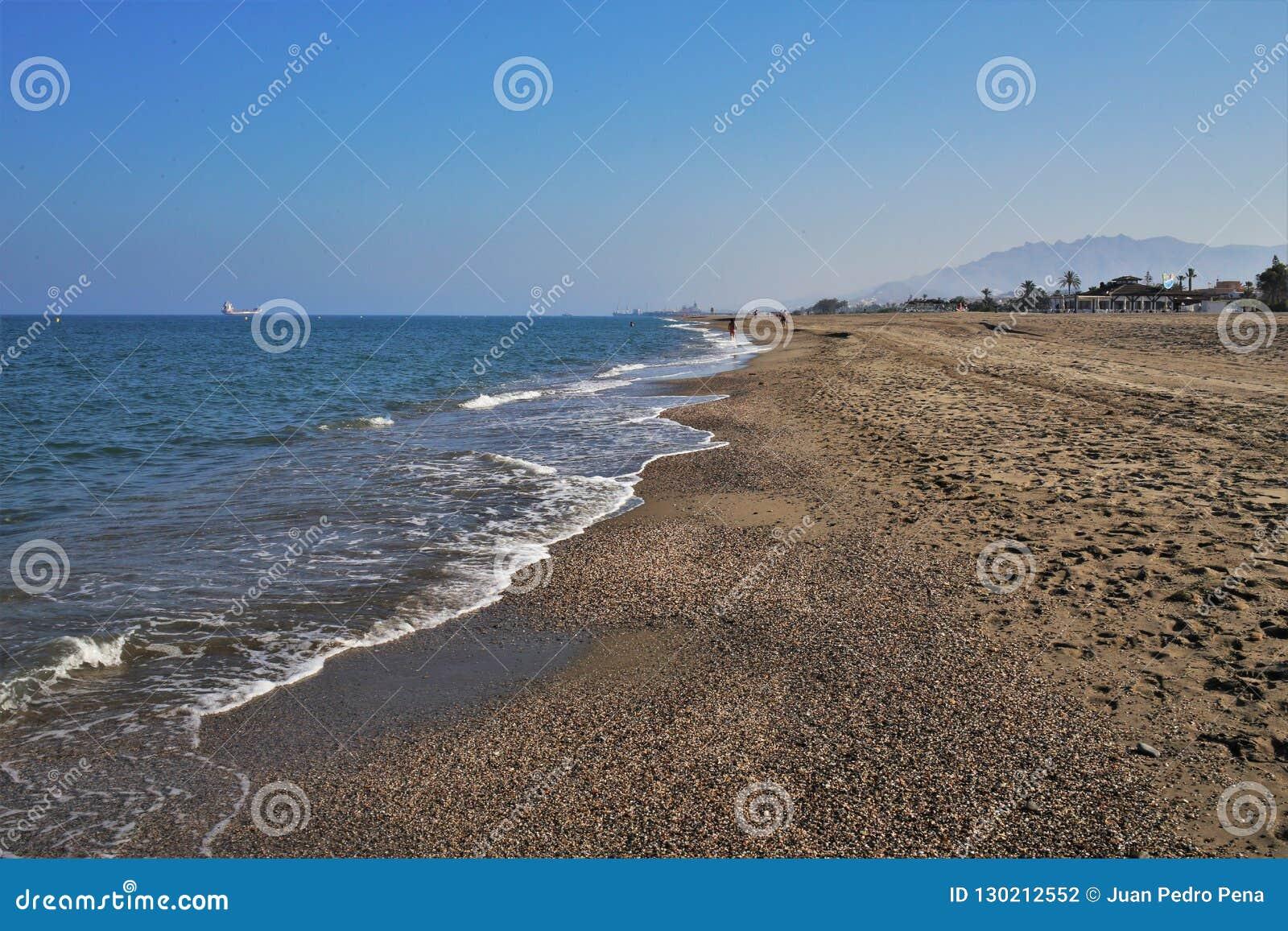 Strand Puerto Rey van Vera Almeria Andalusia Spain