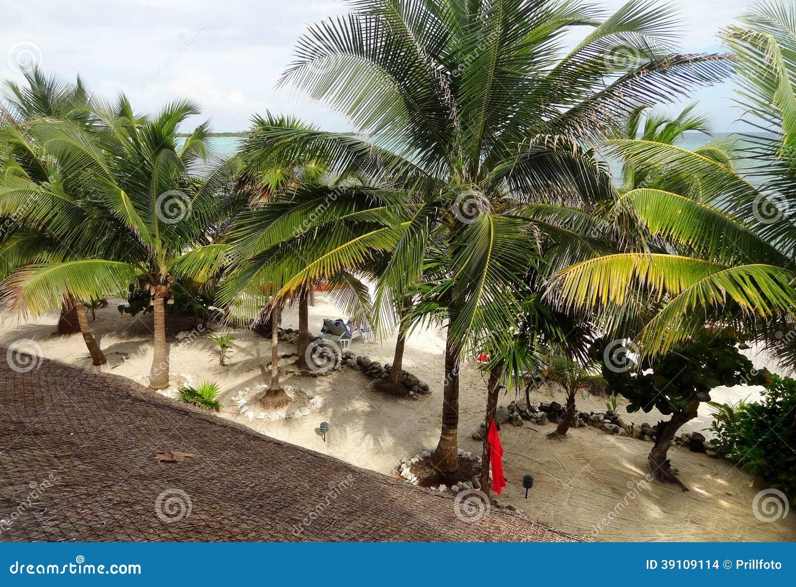 Strand rond Coba