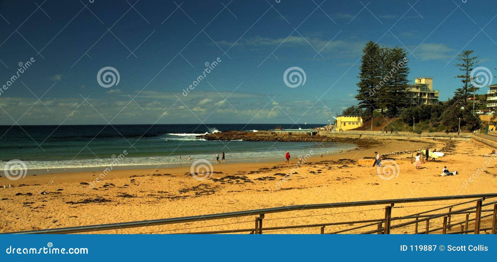 Strand-Seite