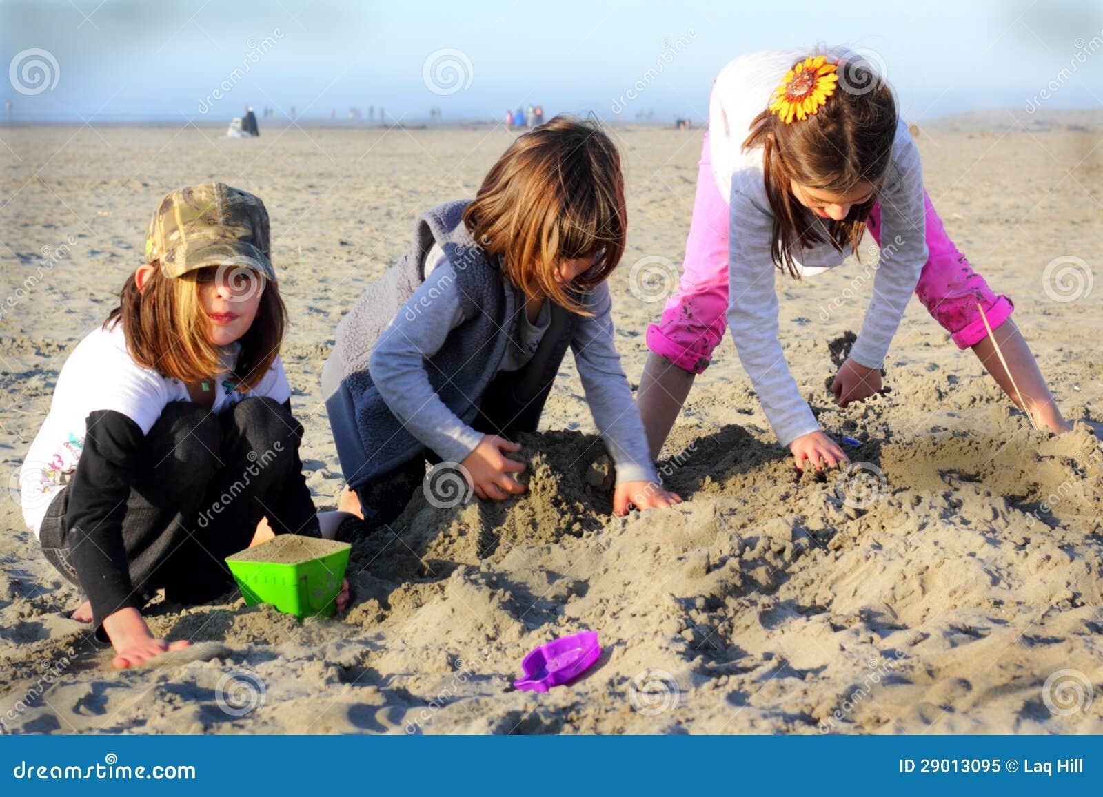 Strand-Spiel