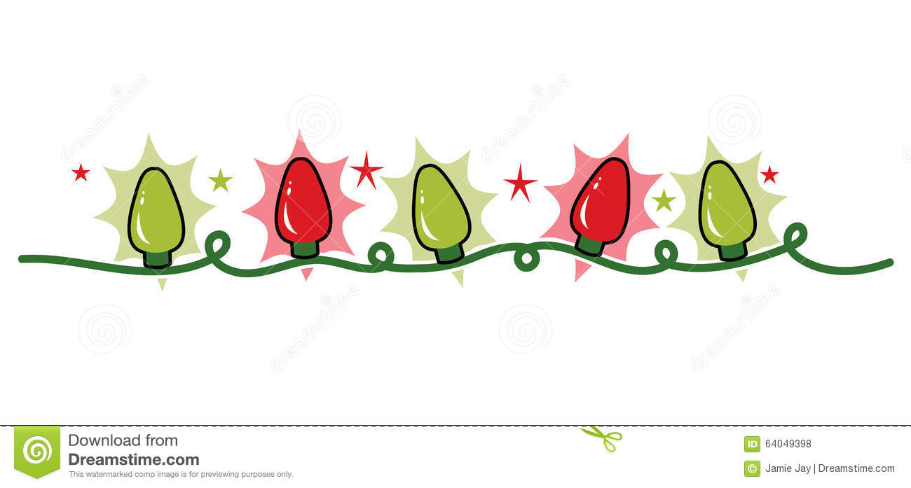 strand string of holiday christmas lights  red and green christmas lights clipart border christmas lights clip art images