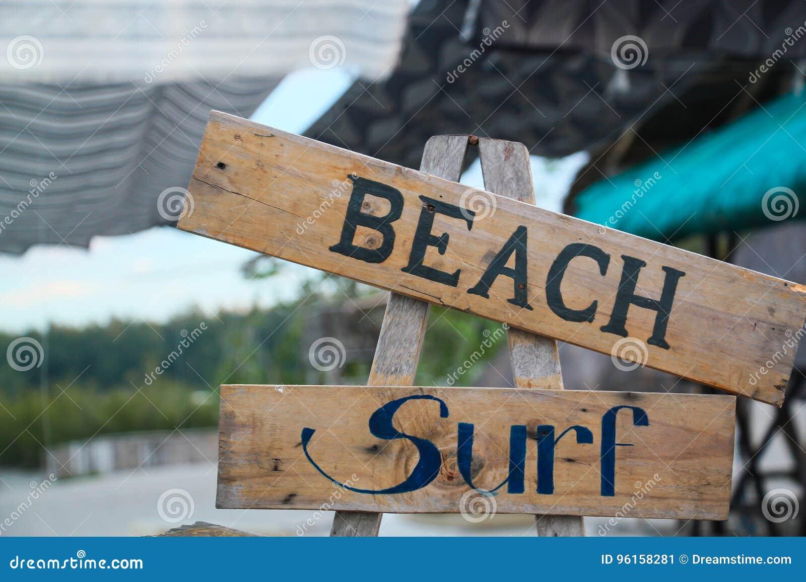 Strand und Brandung