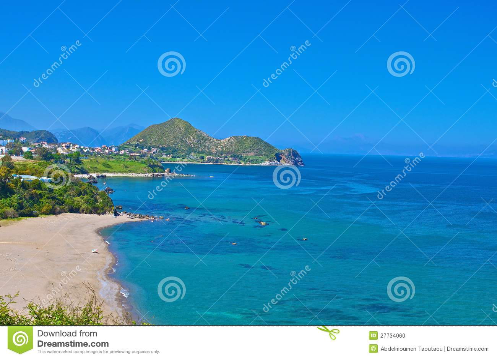Strand und Leiste