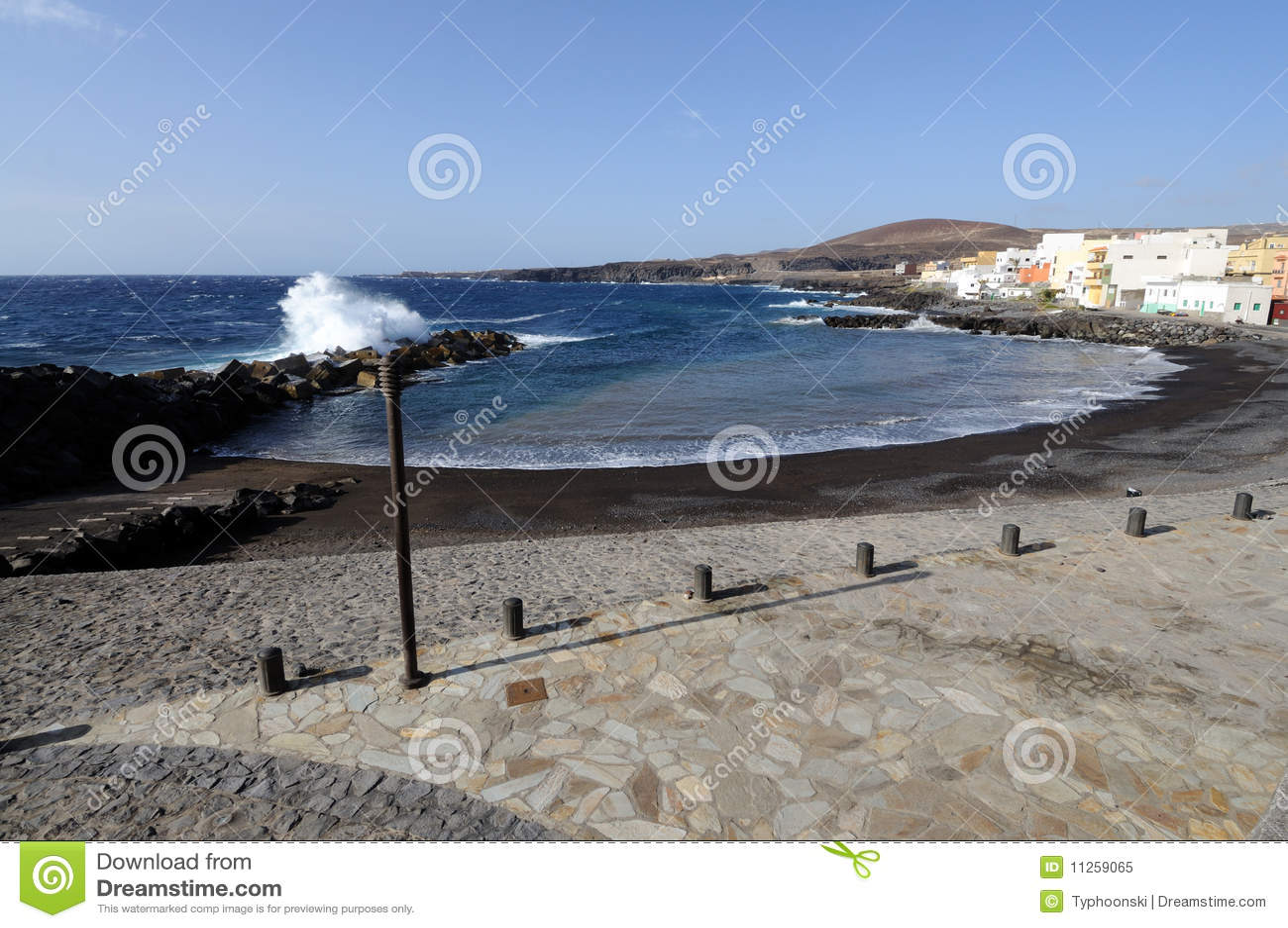 Strand van Las Era s, Tenerife