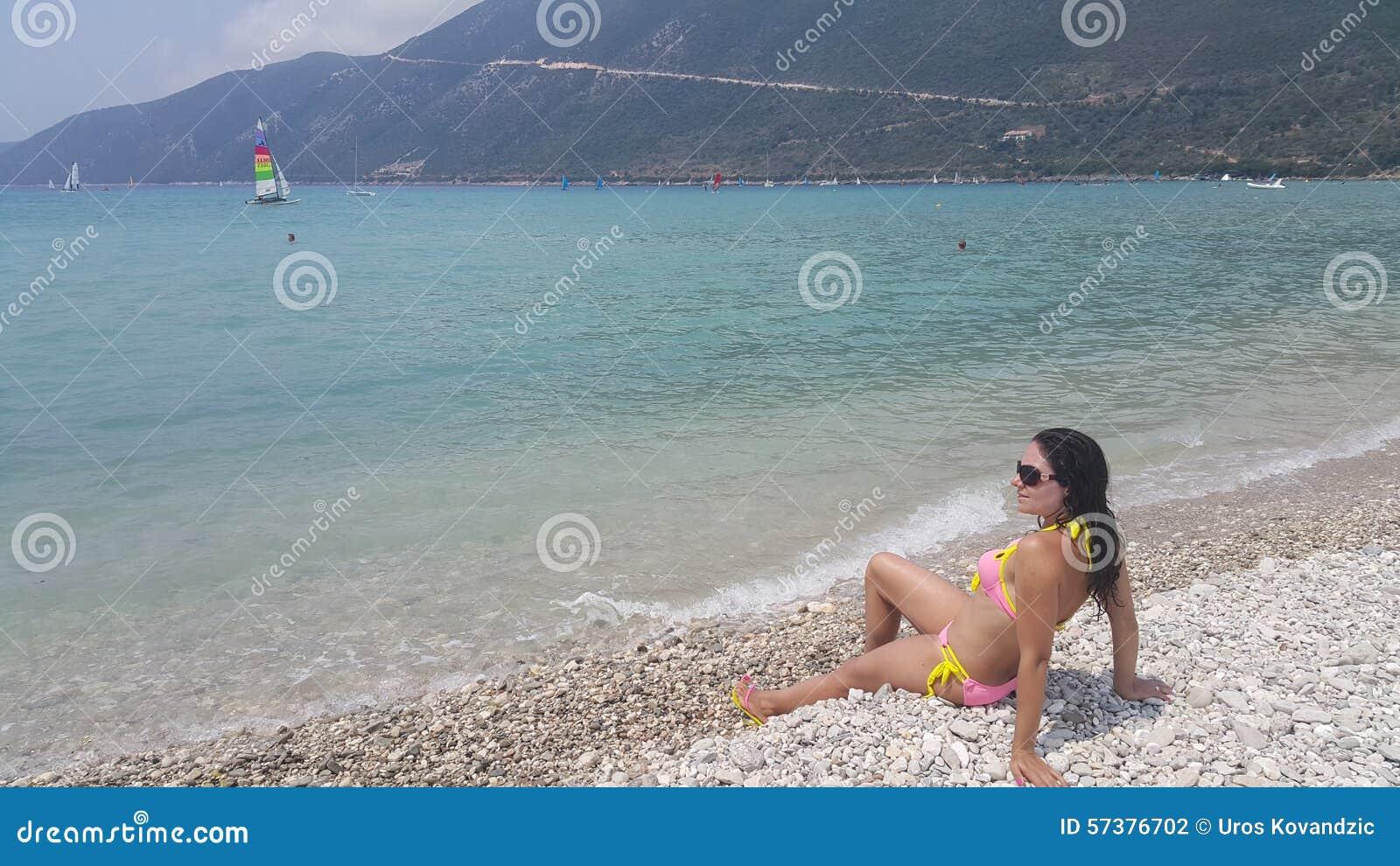Strand Vasiliki in Griekenland