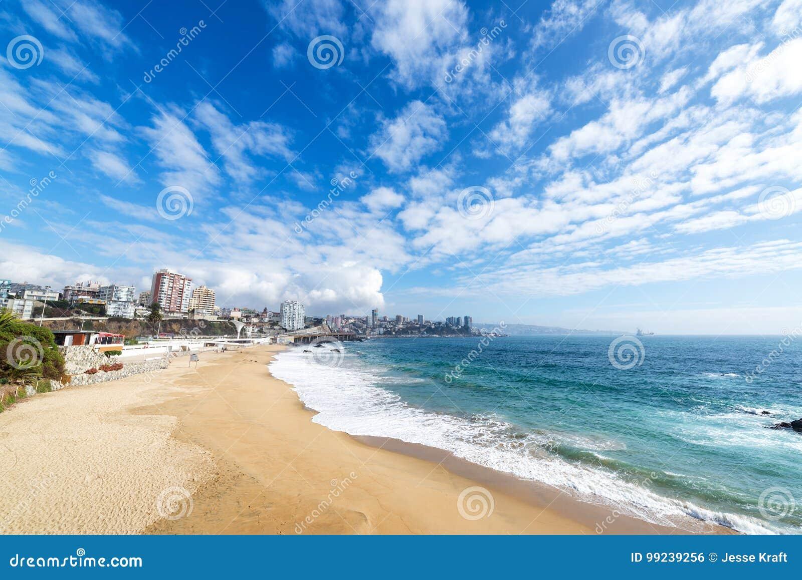 Strand in Vina del Mar