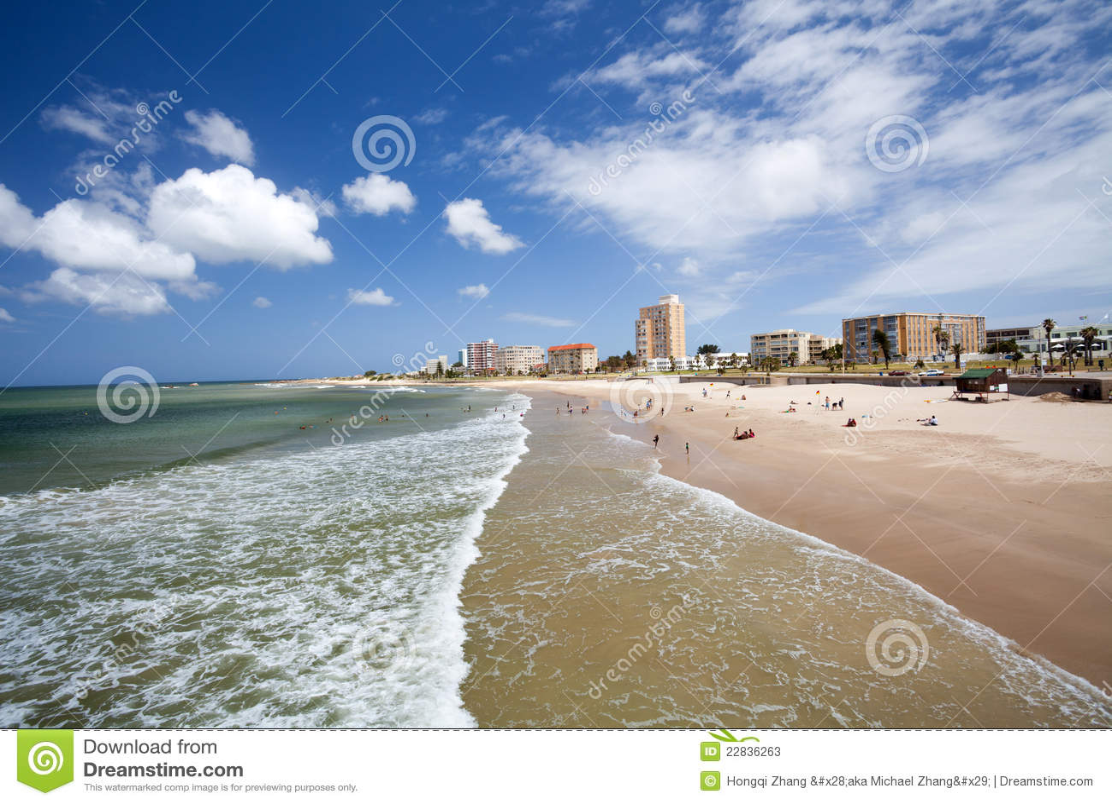 Strand von Port Elizabeth