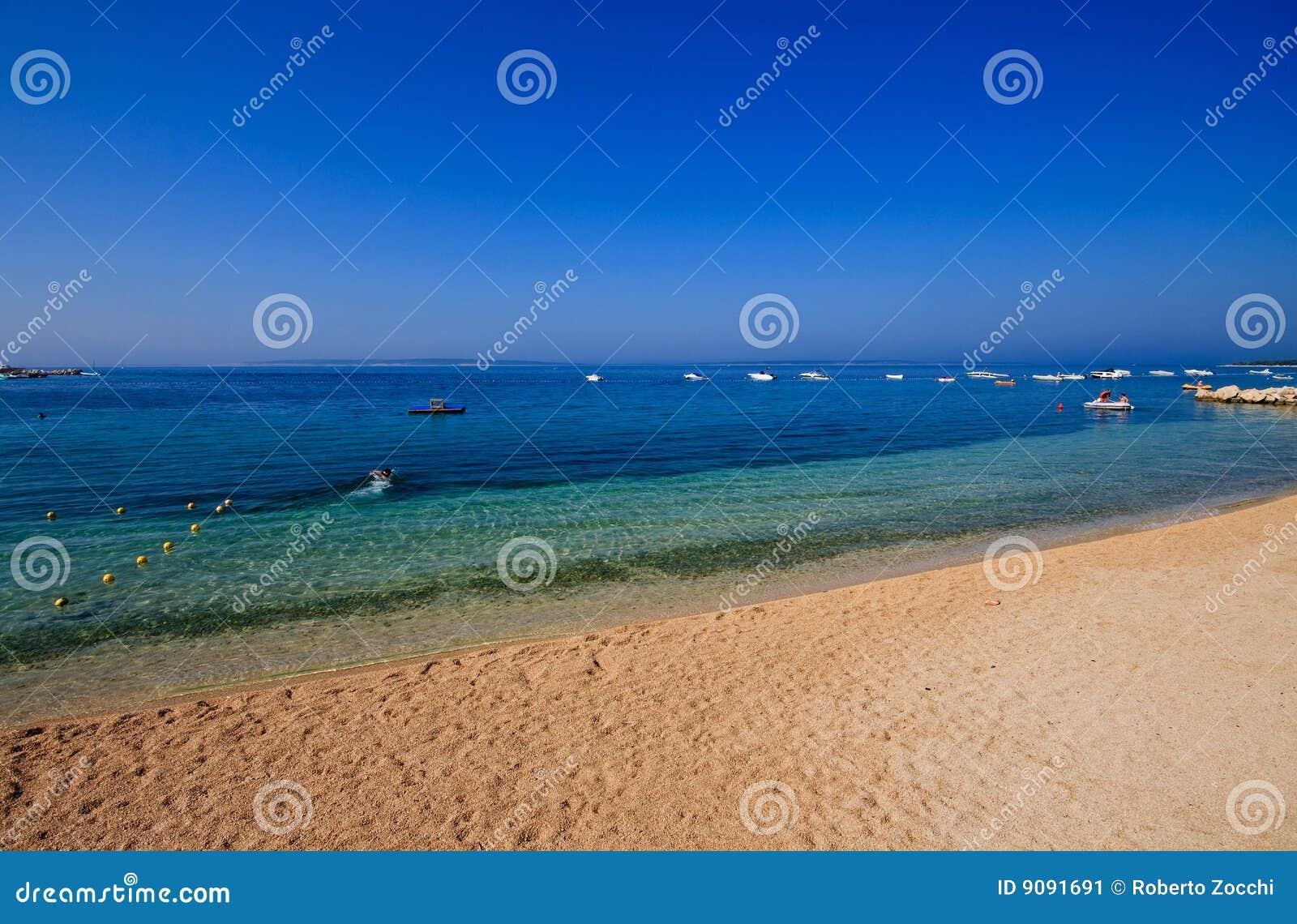 Strand von Simuni - Kroatien