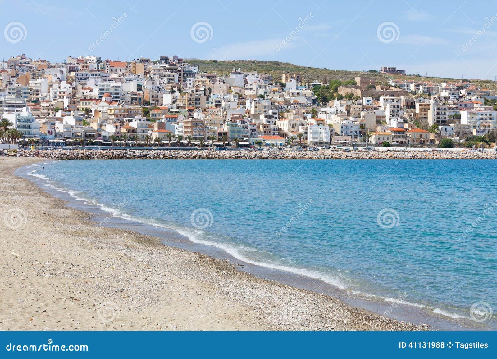 Download Strand von Sitia stockfoto. Bild von idyll, himmel, nave - 41131988