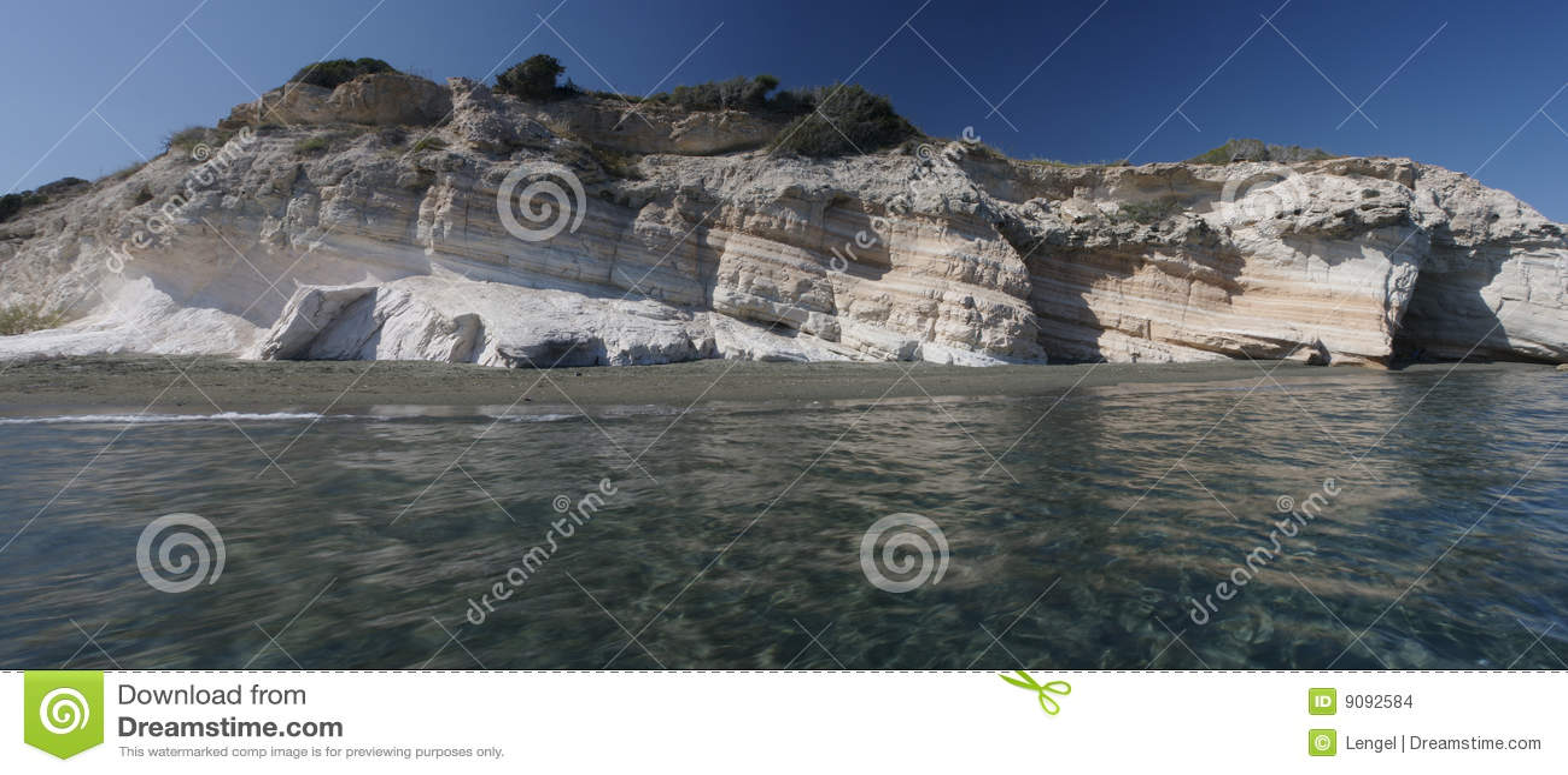 Strand Zypern des Reglers