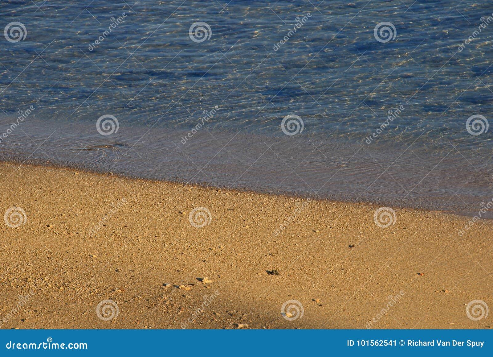 Strandbeeld voor achtergrondgebruik