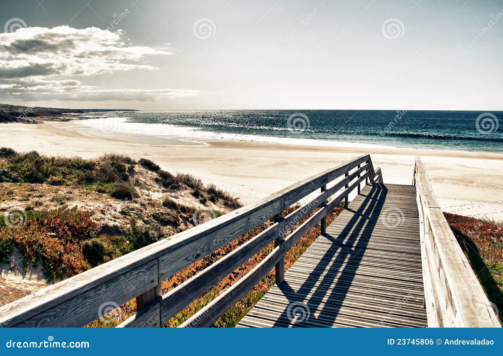 Strandboardwalk till