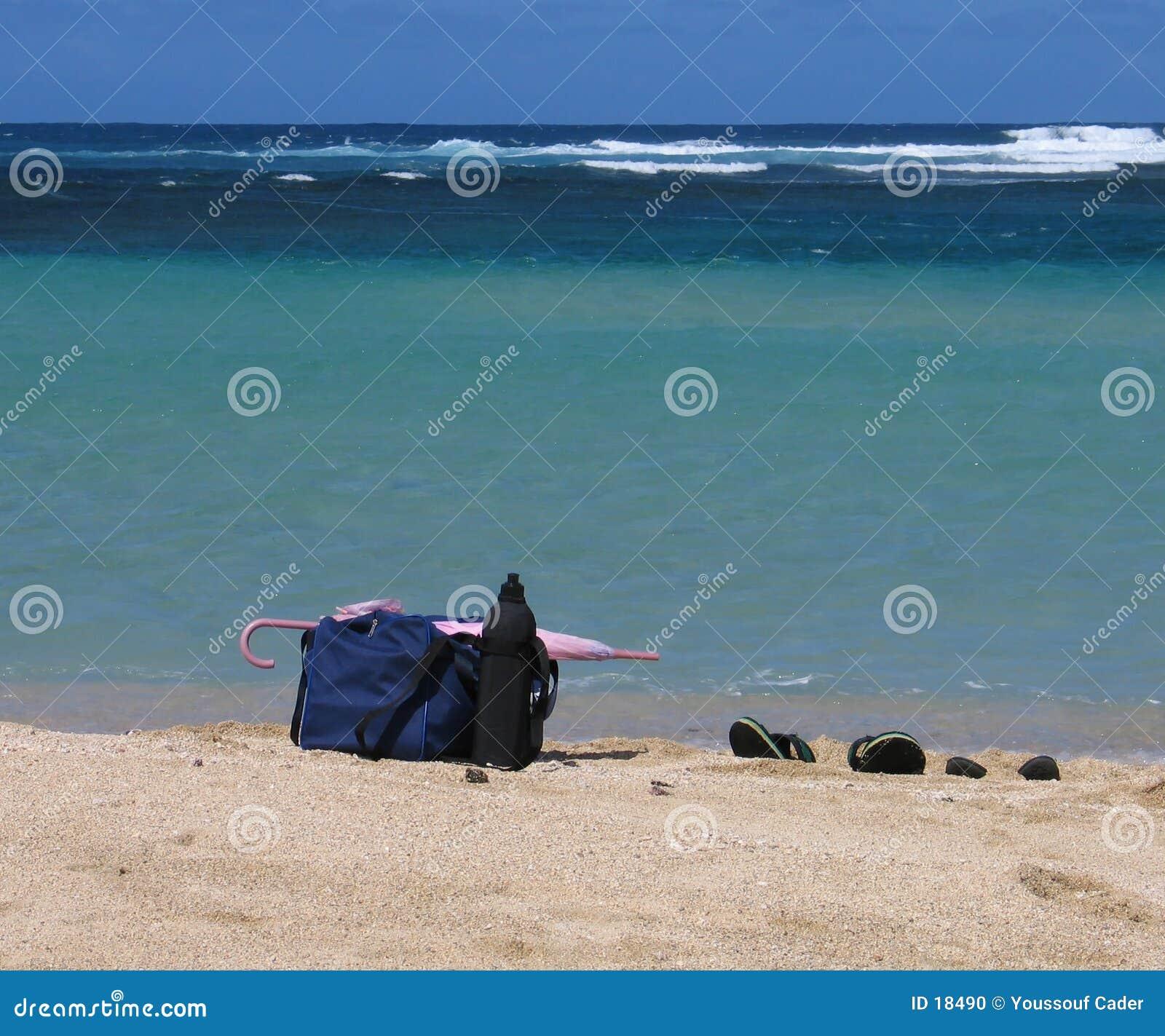 Stranden stoppar