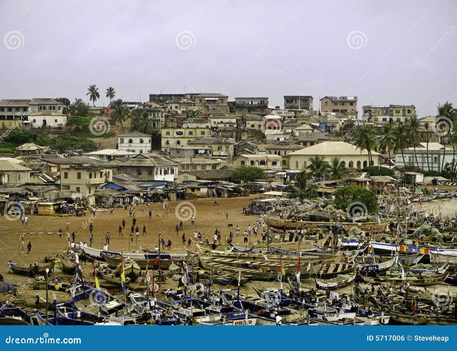 Strandghana marknad