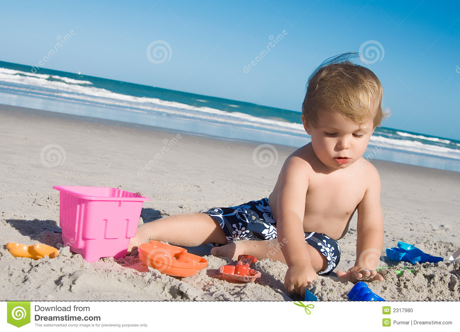 Strandjunge