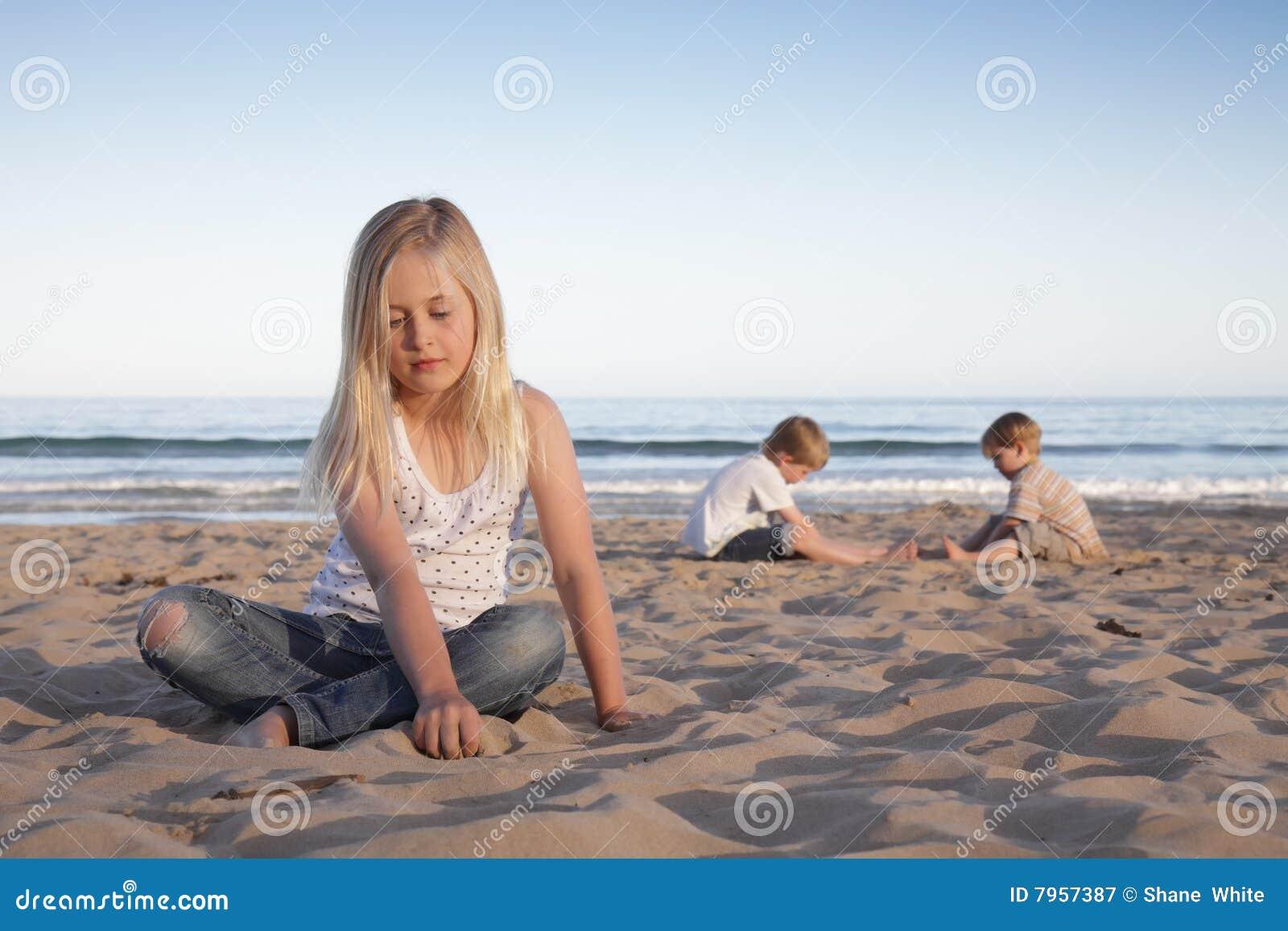 Strandkinder.