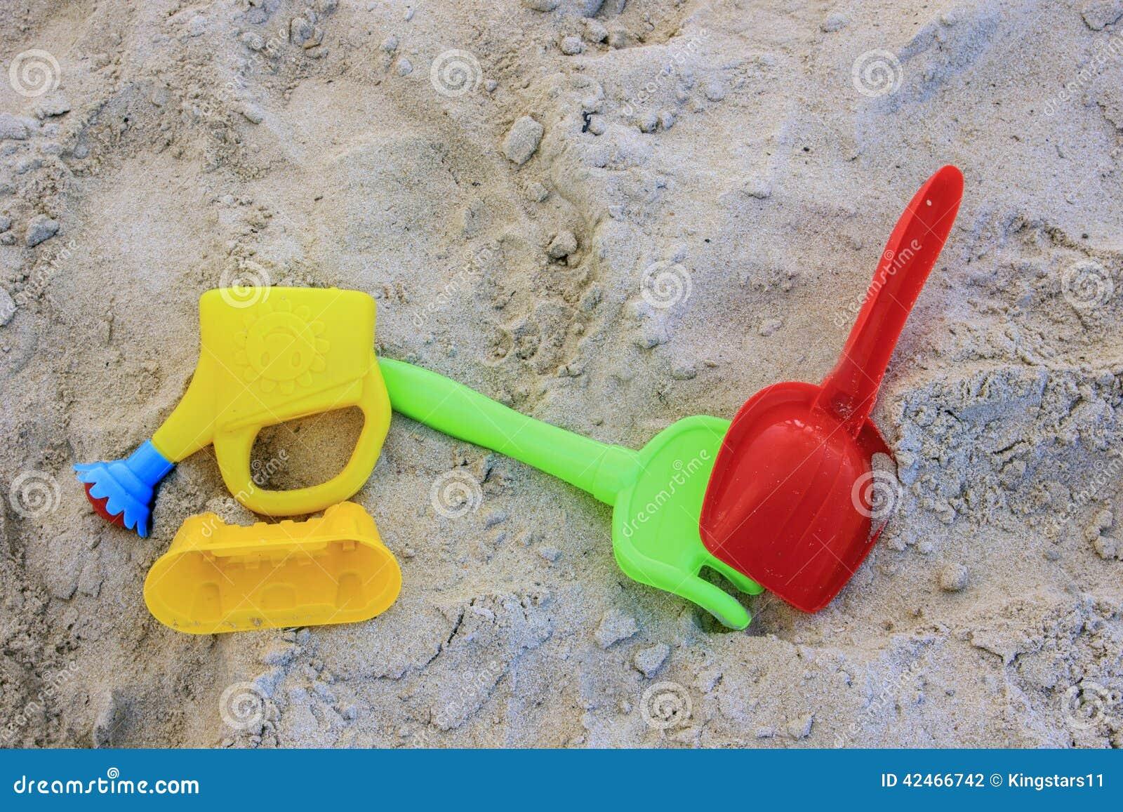 Strandplastikspielwaren