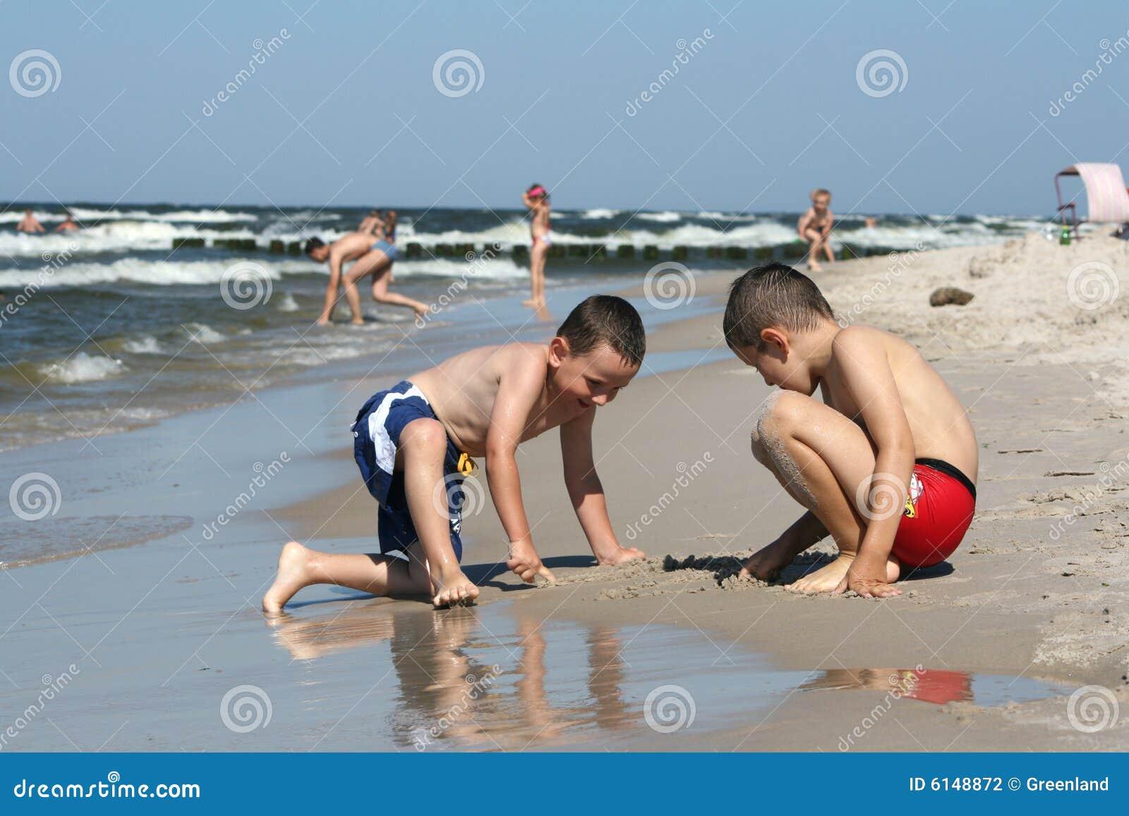 Strandteckningsgyckel