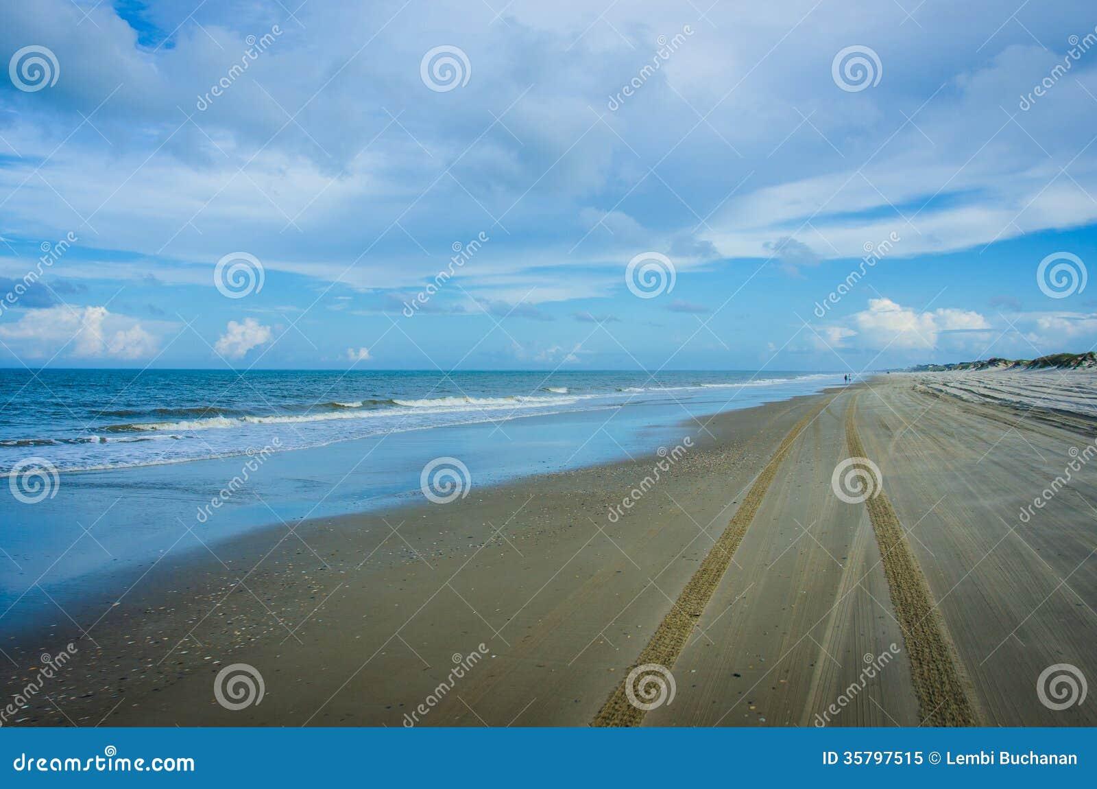 Strandweg in de Buitenbanken