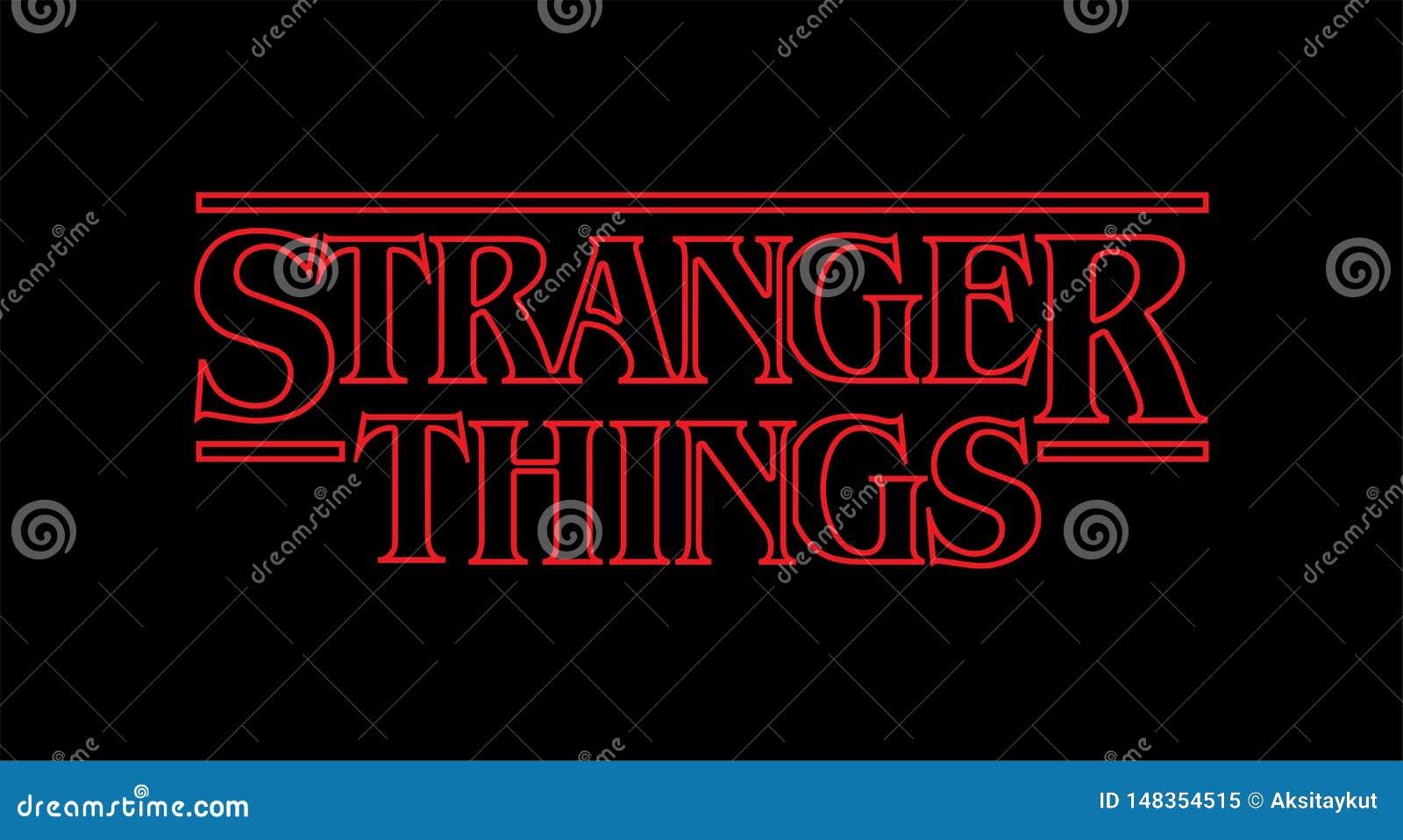 Stranger Things Lights Vector