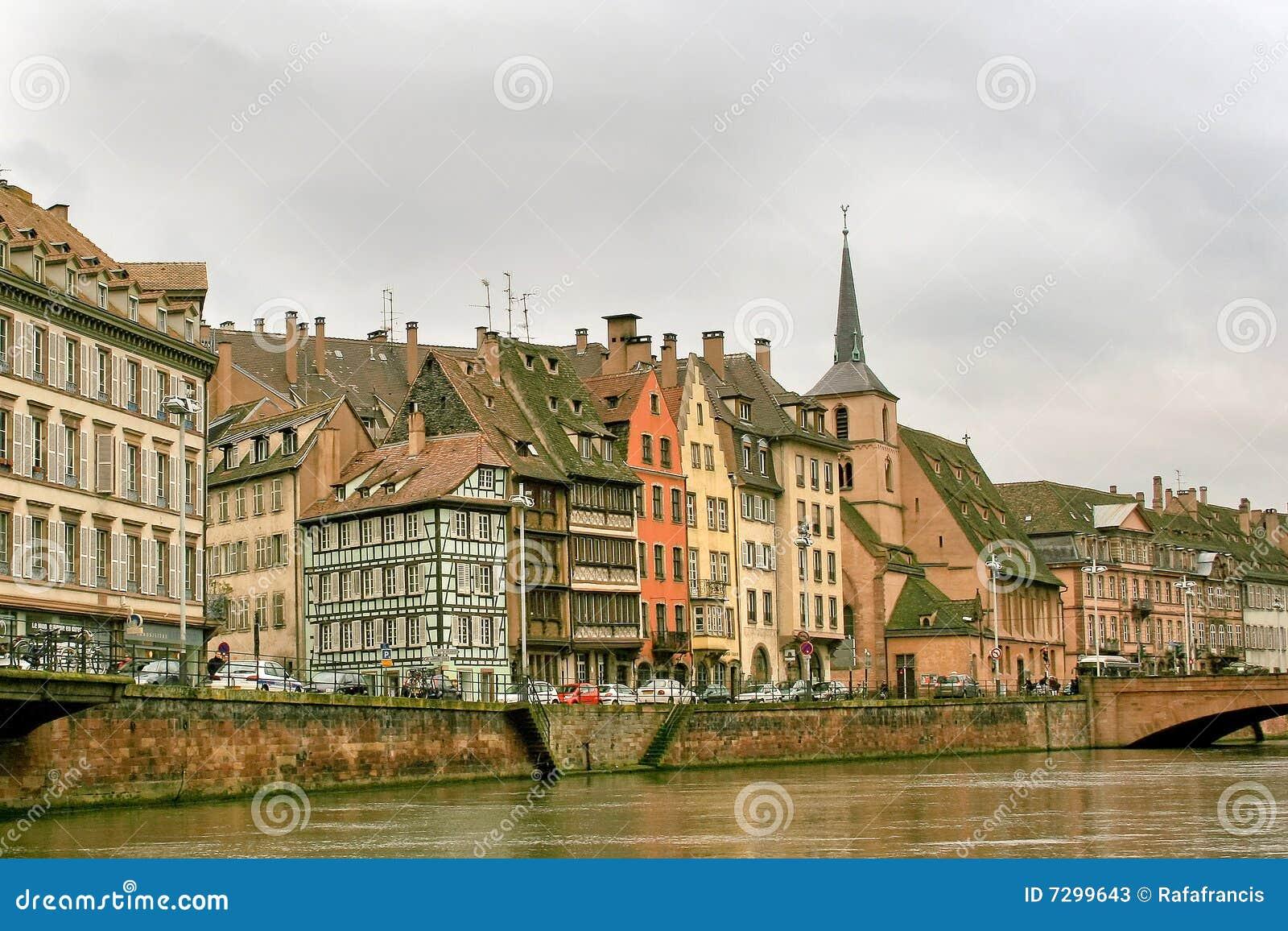 Strasbourg in alsace france stock photos image 7299643 for Alsace carrelage strasbourg