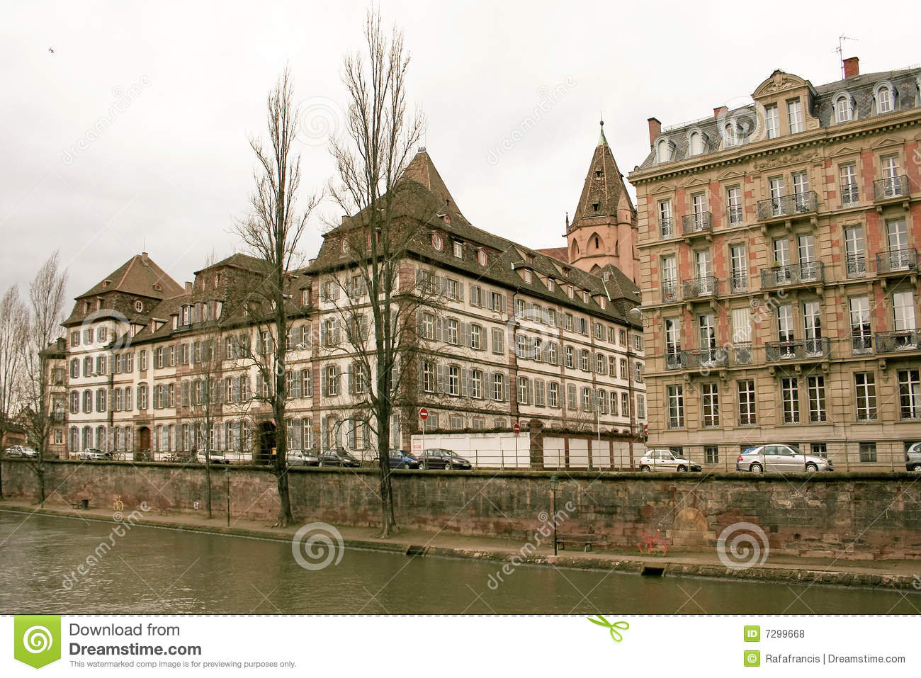 Strasbourg in alsace france royalty free stock photos for Alsace carrelage strasbourg