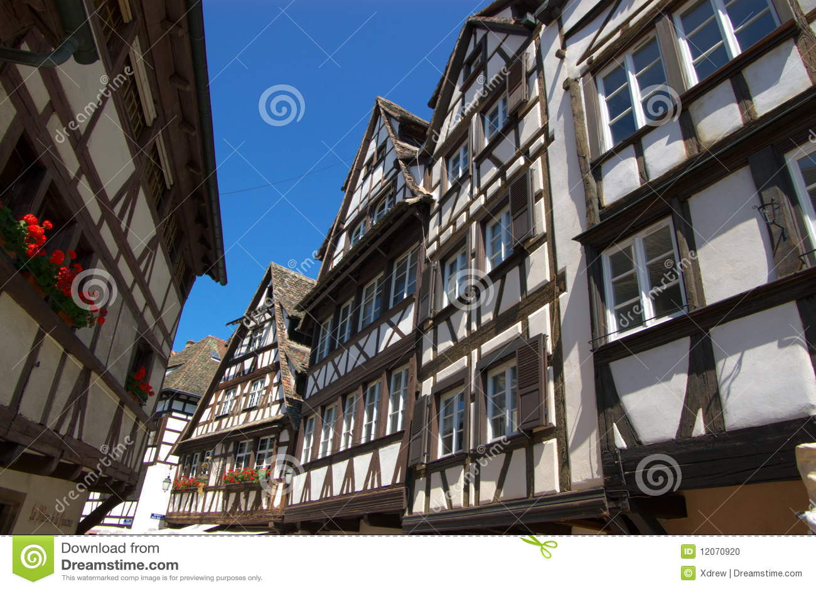 Strasbourg architecture stock photo image 12070920 for Strasbourg architecture