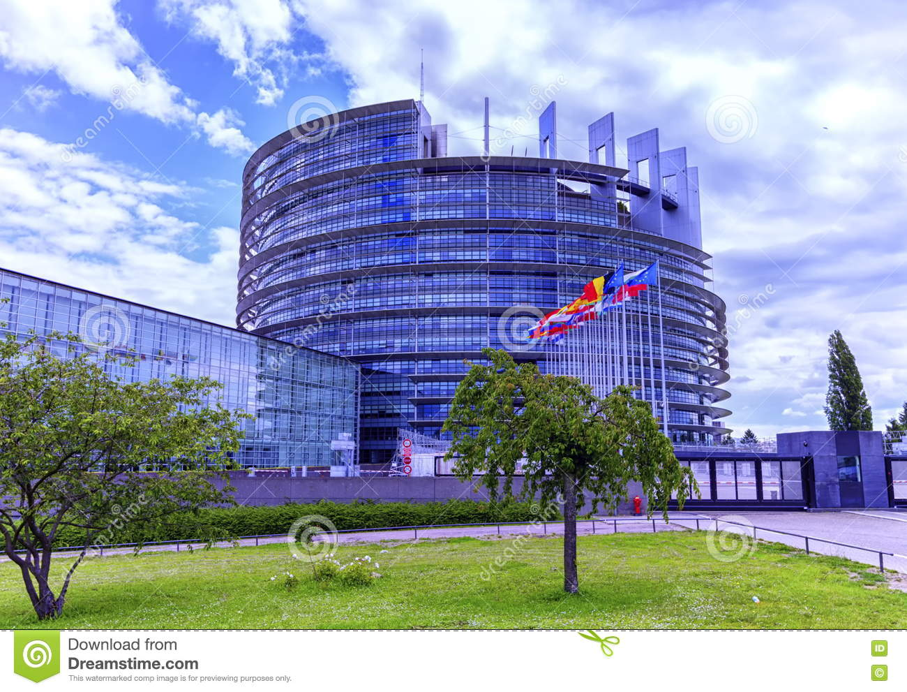 strasbourg france june 19 2016 european parliament louise weiss building 1999 in wacken. Black Bedroom Furniture Sets. Home Design Ideas