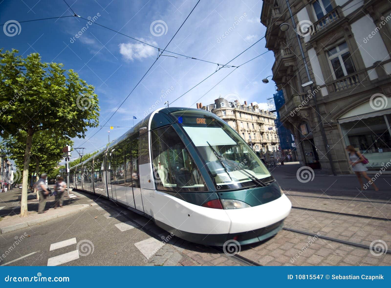 Strasbourg pociąg
