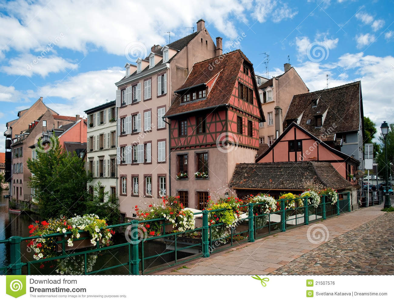 Strasbourg small france royalty free stock image image for Strasbourg architecture