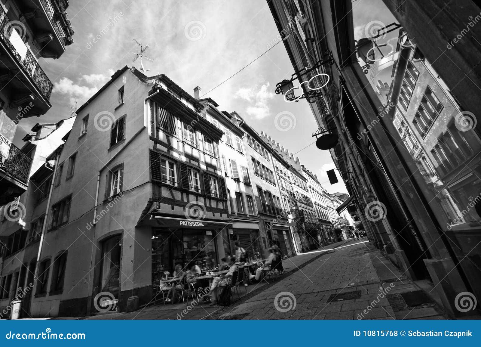 Strasbourg ulicy