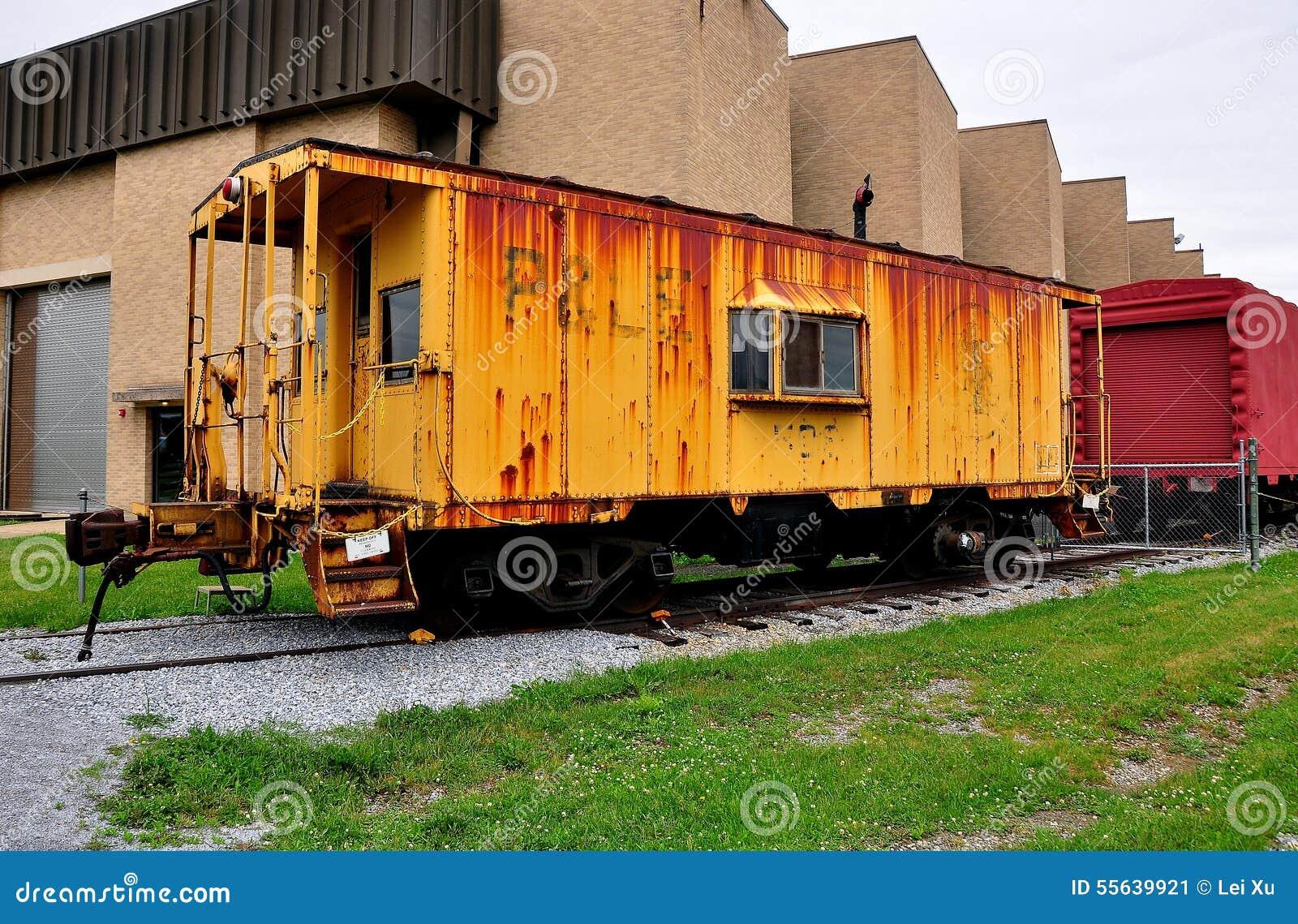 Strasburg, PA: Railroad Museum Of Pennsylvania Editorial