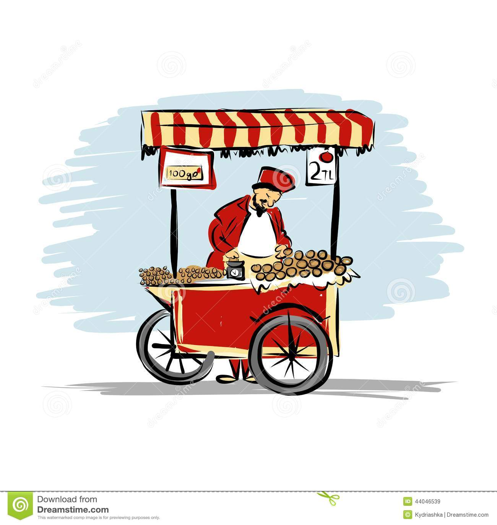The Hot Dog Hut Food Cart