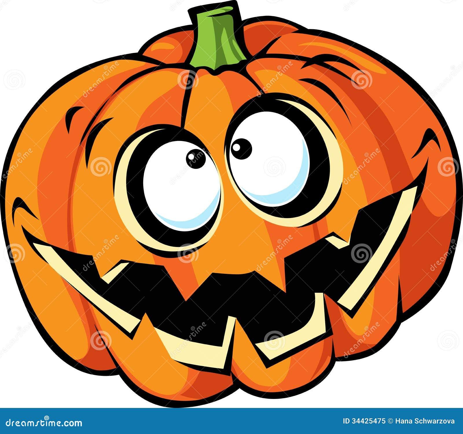 Straszna Halloween bani kreskówka