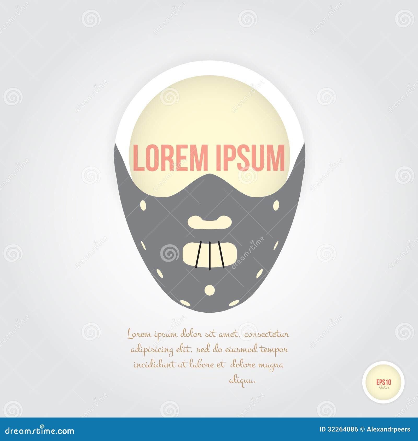 Straszna maska