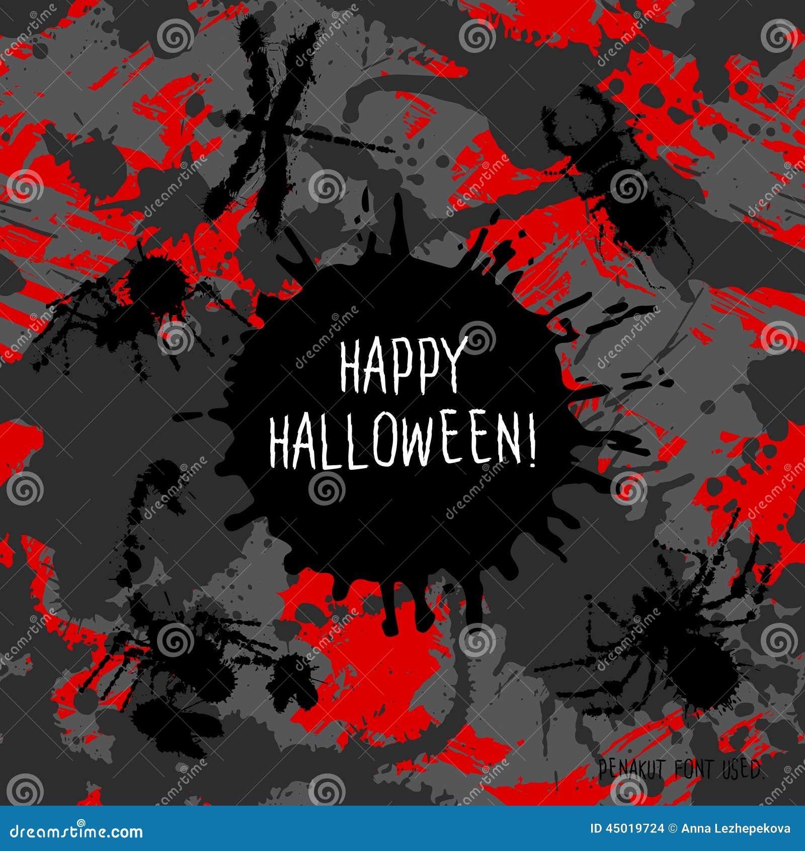 Straszny zaproszenie dla Halloween przyjęcia