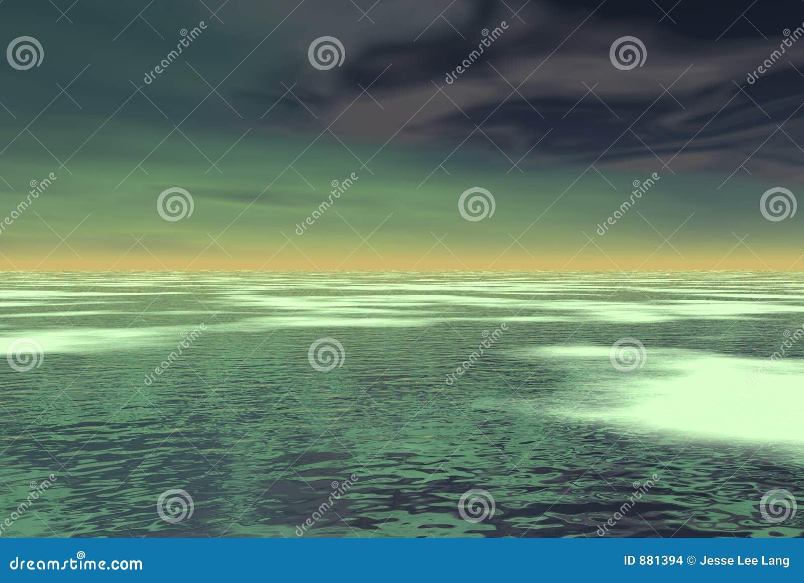 Straszny zielone