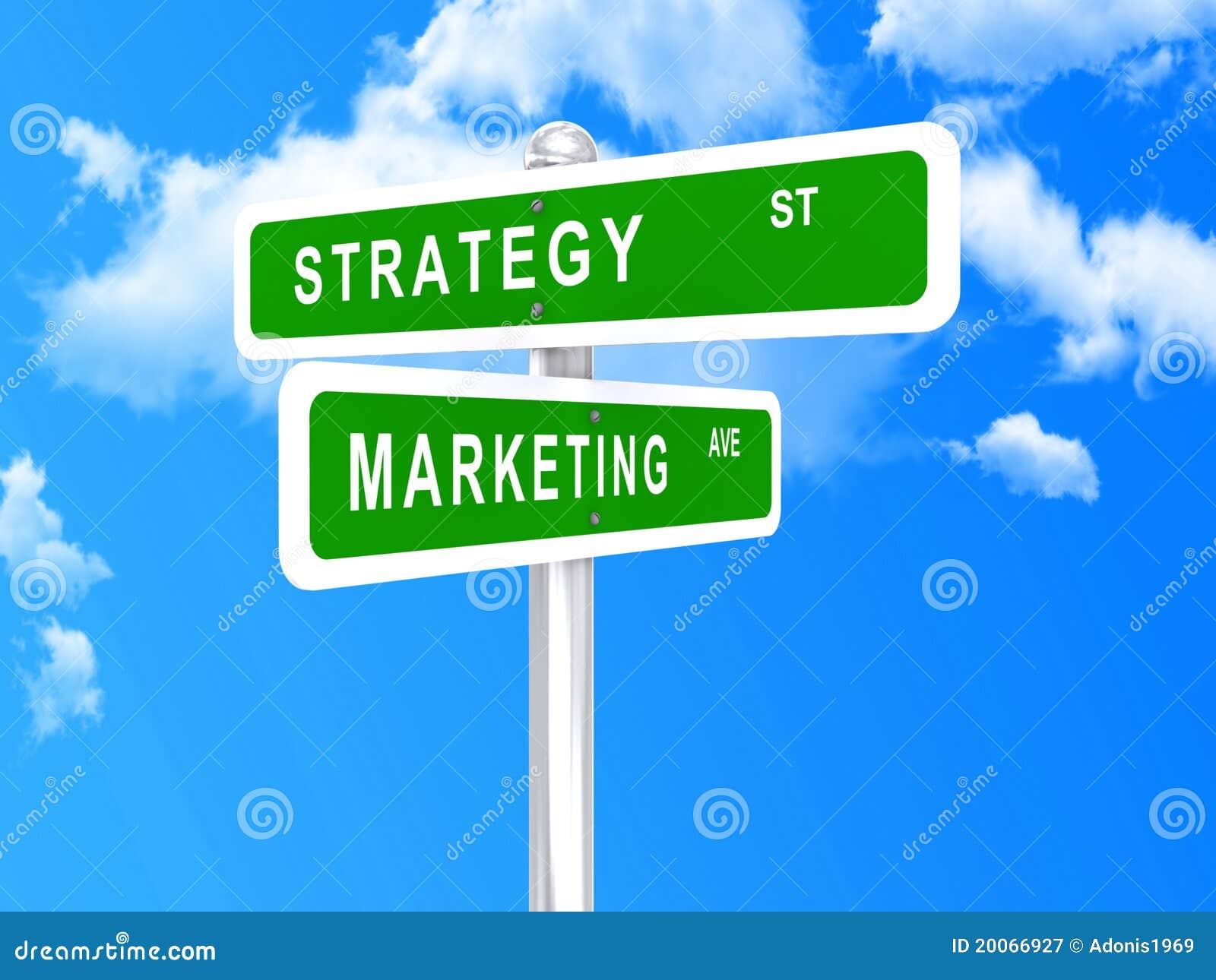 Stratégie marketing intersectée