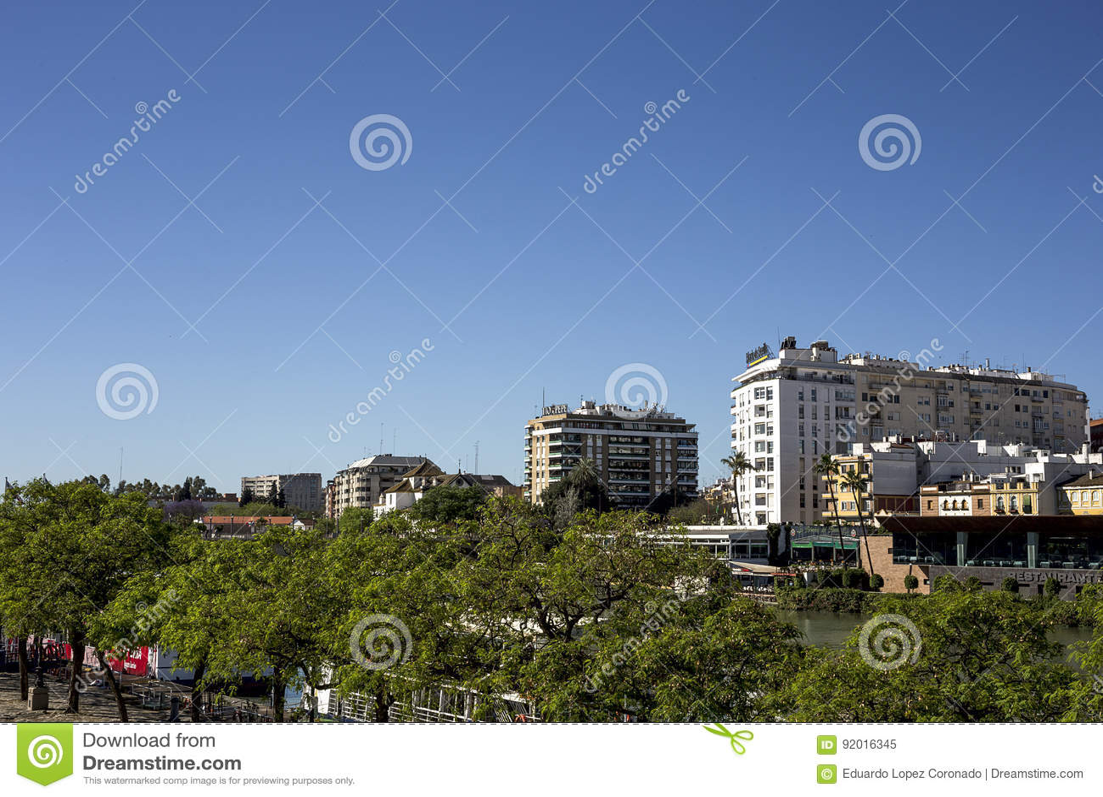 Straten en hoeken van Sevilla andalusia spanje