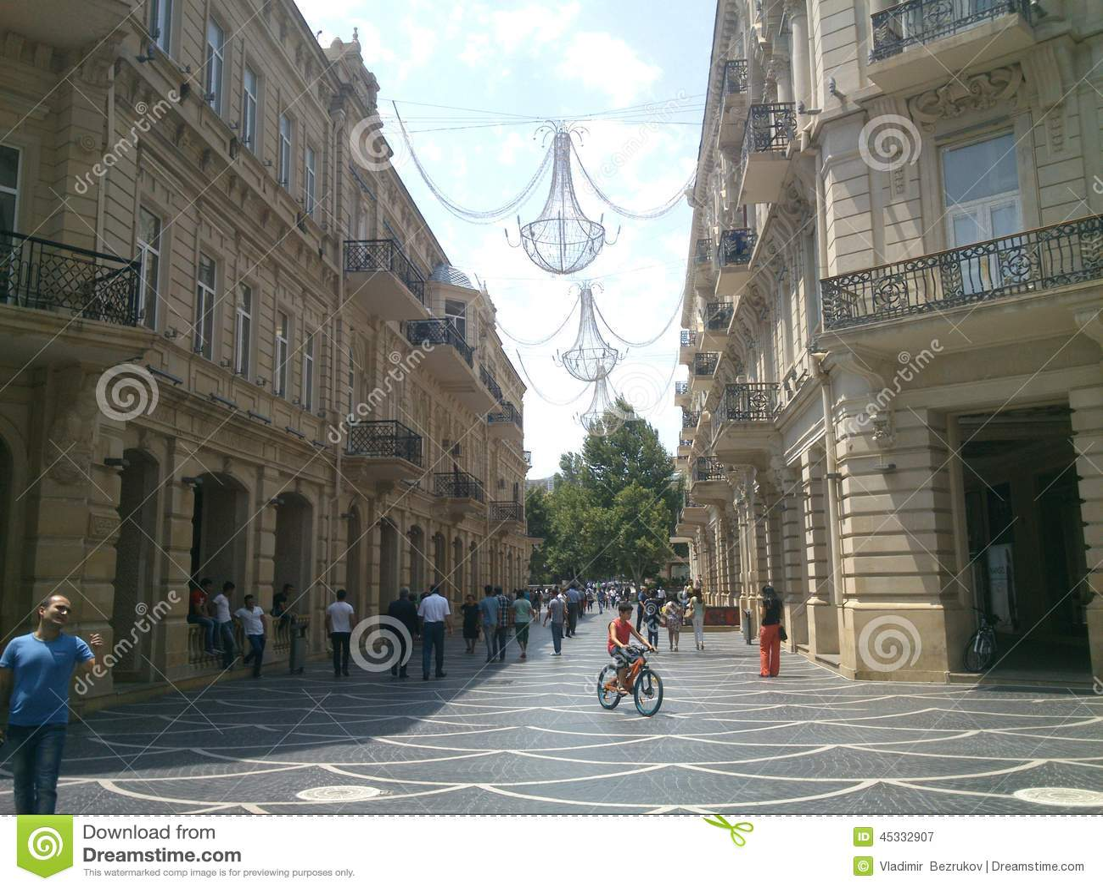 Straten van Baku