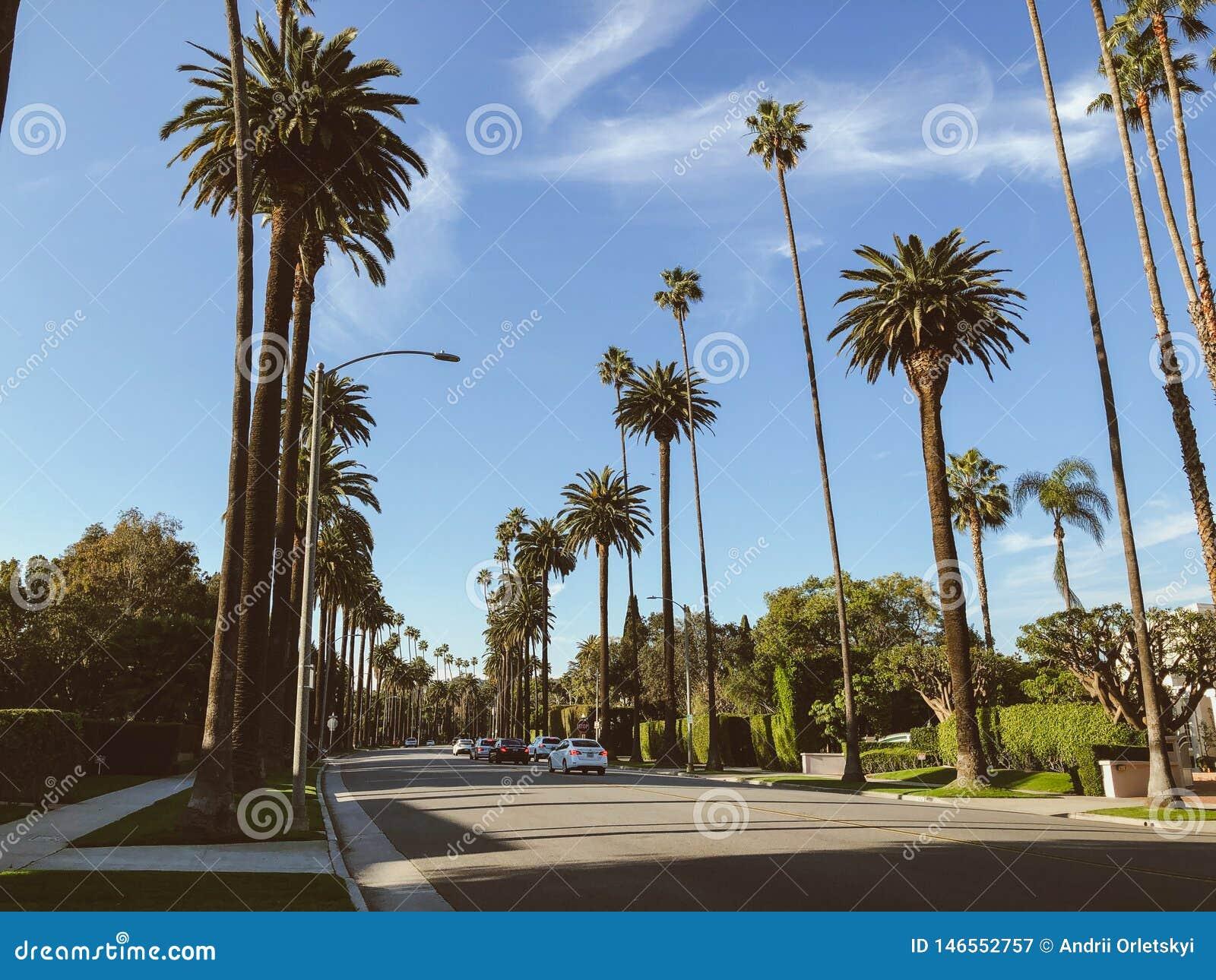 Straten van Beverly Hills, Californi?