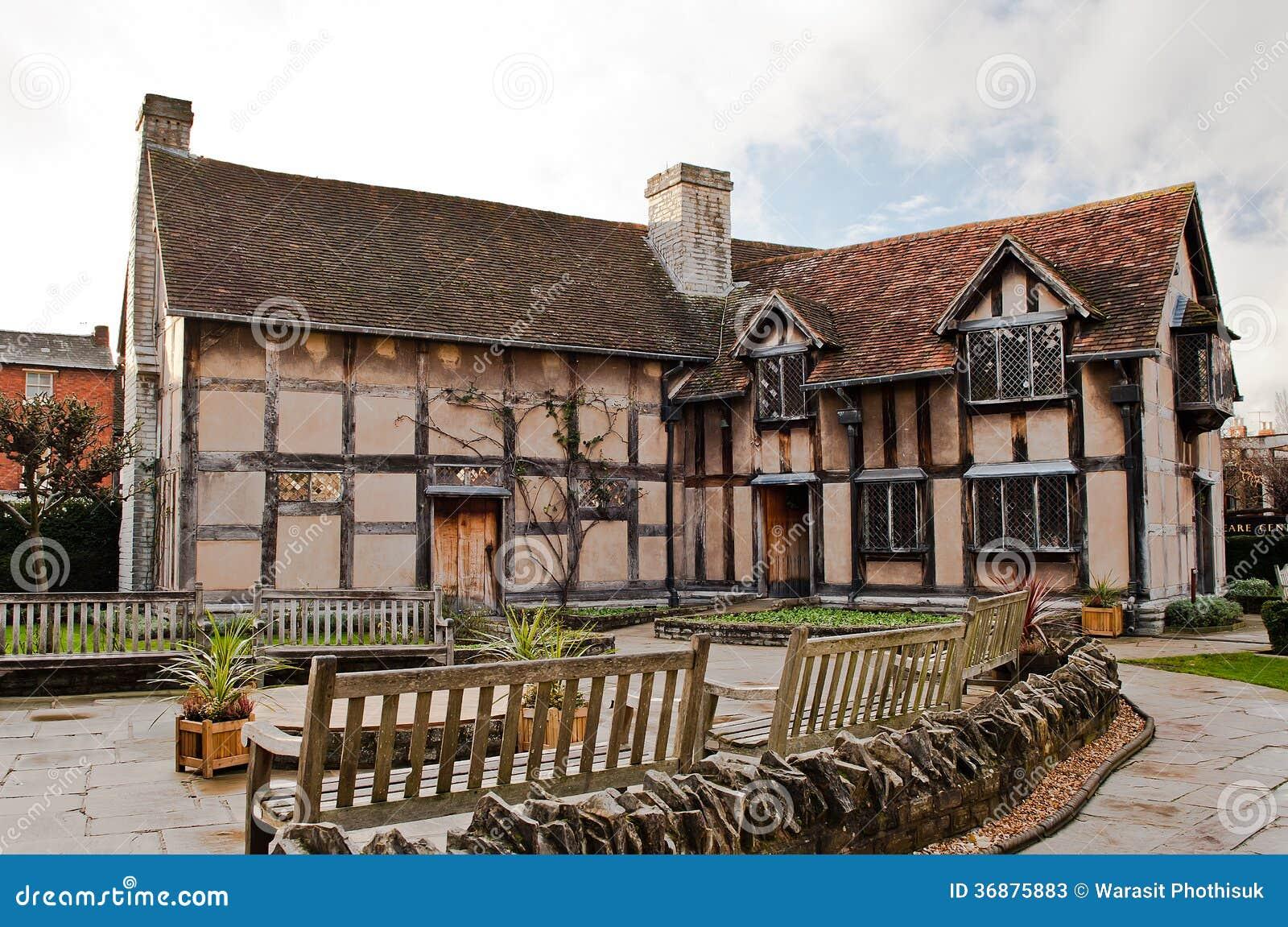 Download Stratford Sopra Avon Warwickshire Inghilterra Immagine Stock - Immagine di museo, shakespeare: 36875883