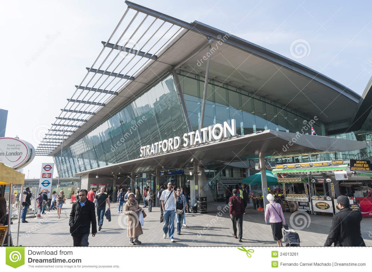 Stratford Station In London Editorial Photo Image 24013261