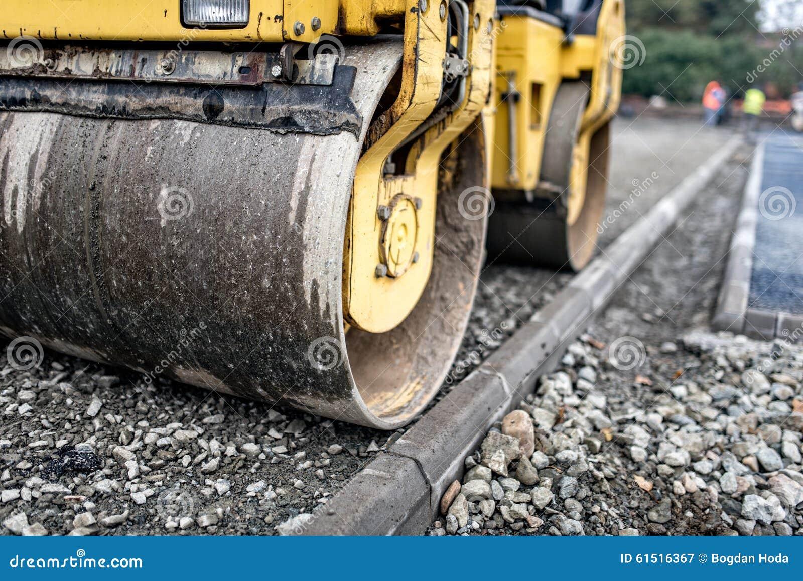 Strati comprimenti in tandem pesanti del rullo compressore for Software di pianificazione del sito di costruzione