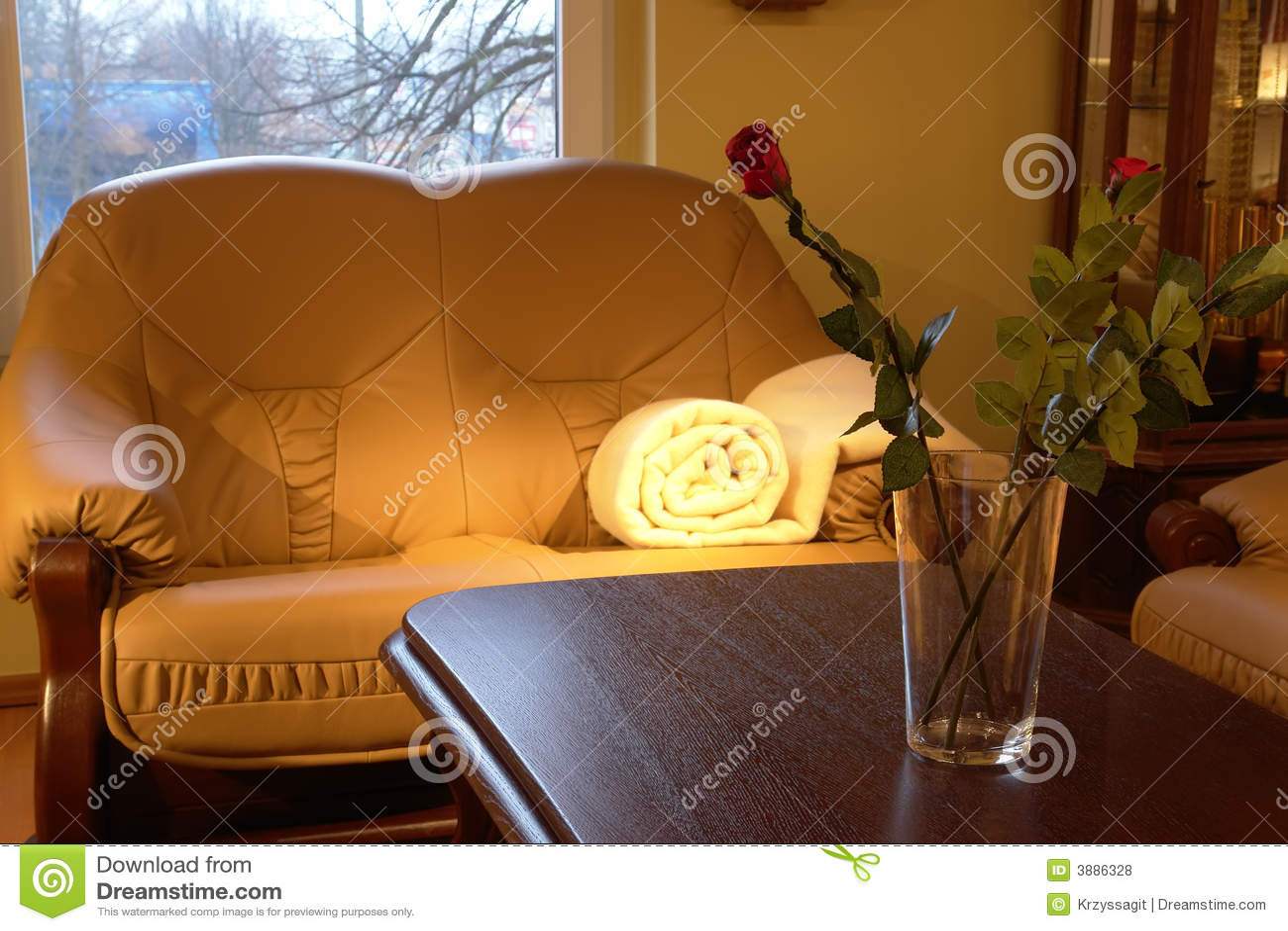 Strato accogliente nel salone