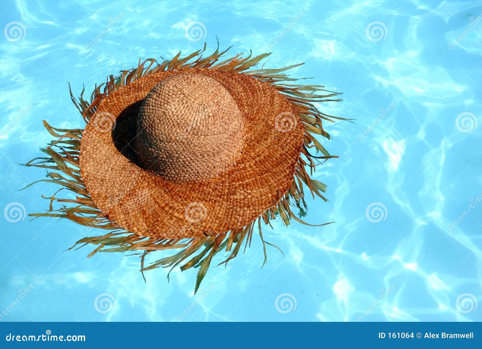 Straw Hat Floating